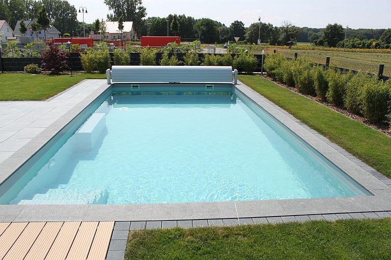 neubau folienbecken gr e 8 x 4 x 1 5 m pro pool. Black Bedroom Furniture Sets. Home Design Ideas