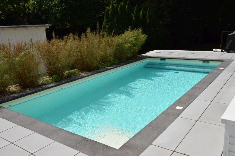 Folienbecken in dreieich sandfarbene folie pro pool for Pool mit schwarzer folie